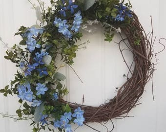 Afternoon Sky Wreath