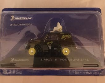 "Michelin Simca 5 Fourgonnette ""La Collection Officielle"" ; Vintage Michelin -Rare"