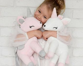 SilverElk NEW Super Cute Personalized UNICORNS with NAME, Wonderful Gift <3