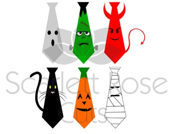 Halloween Tie shirts, Devil, Frankenstein, Ghost, Pumpkin Hocus Pocus fall boy SVG cut file for silhouette cameo and cricut