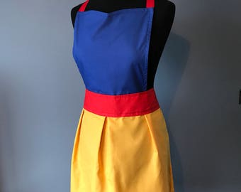 Snow White Inspired Apron ADULT