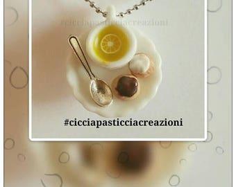 """Tea Time"" Handmade Necklaces"