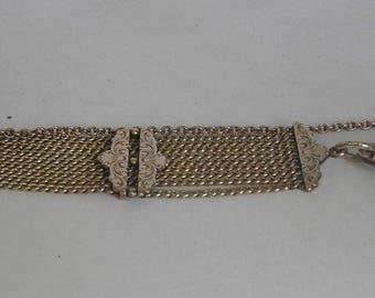 Victorian Fancy Men's Watch Chain & Fob