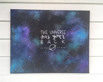 Universe Has Your Back Painting