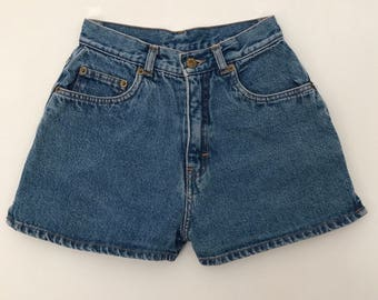 Vintage shorts / denim shorts / high waisted shorts / jeans shorts / 90s shorts / 90s clothing / summer shorts / jean shorts / womens shorts