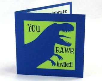 Dinosaur Invites - Dinosaur Birthday Invitations - Dinosaur Party - Dinosaur Invitations - Dino Party - Dino Birthday Party - Dino Invites