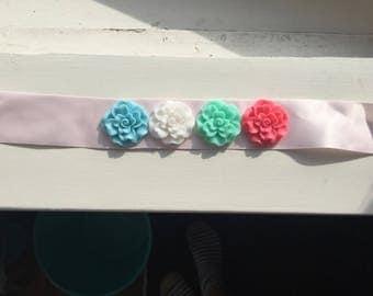 Rainbow Bun Flower