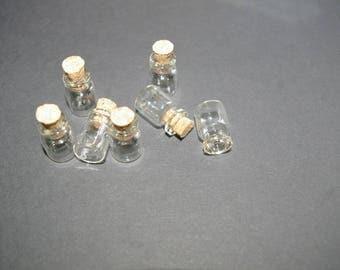 glass with screw Stud 18x12x06mm 50 jars