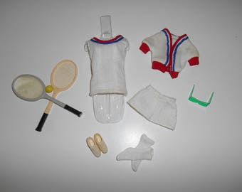 Vintage Montgomery Ward Get-Ups N Go Tennis Gear Set