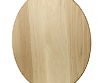 Customizable Oval Plague for Wood Burned design