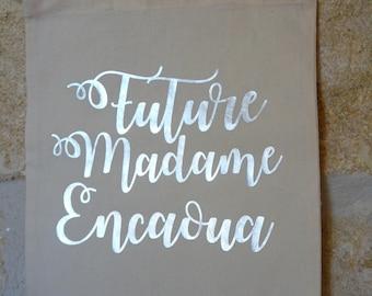 Bag future Mrs - Future Mrs - future Mrs - bride future present - Future Mrs *.