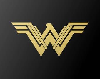 Wonder Woman New 2017 Movie Symbol Vinyl Decal Car Window Laptop Sticker