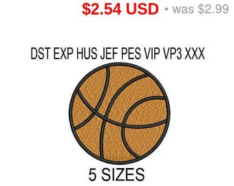 TODAY SALE 15% Basketball Embroidery Design / embroidery designs / INSTANT download machine embroidery pattern