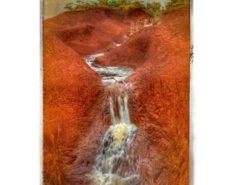 Maui Red Clay Falls