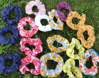 Hair Scrunchies & Hair Wraps