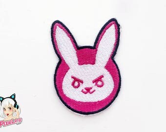 D.VA Bunny Overwatch Embroidery Patch