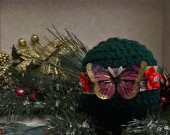 Festive Green Christmas Ornament