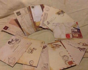 12 Mini Envelopes