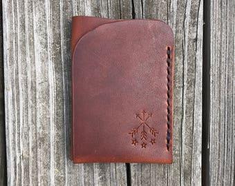 Mens wallet, Card Holder, Leather Wallet