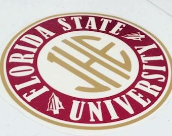 FSU Monogram Decal
