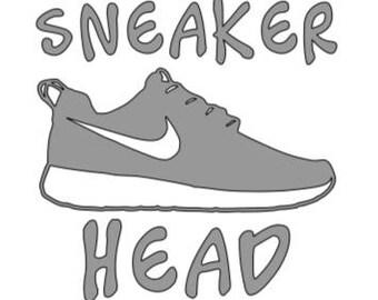 Sneaker Head Decal