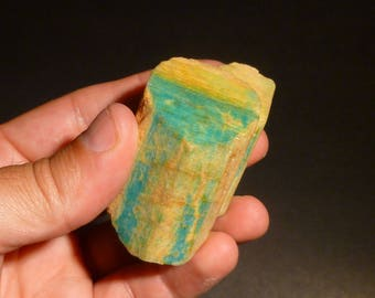 Microcline var Amazonite from Crystal Peak, CO