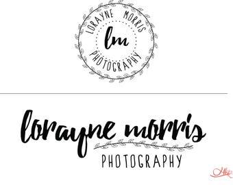 Logo design, Custom logo, Branding, Photography logo, Business branding, Botanical logo, Skincare Logo, Florist Logo, Rustic logo design