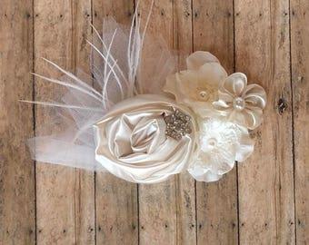 Flower girl/bridal/wedding/christening Hair accessory