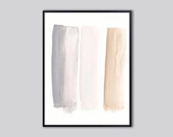 Abstract wall art print, abstract watercolor, abstract art print, grey, beige, modern abstract watercolor, abstract artwork, neutral colors