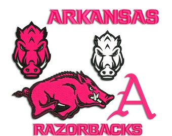Razorbacks embroidery design - Machine embroidery design