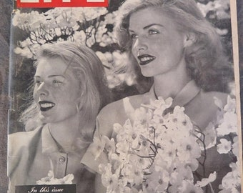 Life Magazine April 14, 1947 Winston Churchill, World Policy, Henry Morgan, Old Charleston, Whirling Dresses,
