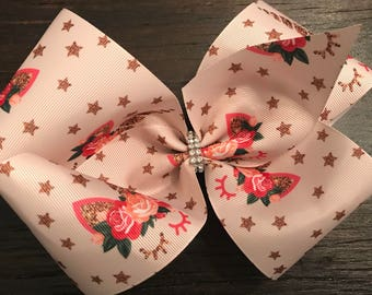 Unicorn XLarge Boutique Bow