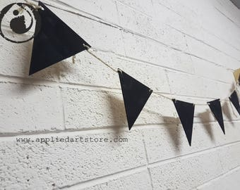 CHALK paint bunting draw on