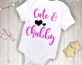 Cute & Chubby Short Sleeve Onesie