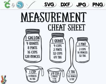 kitchen conversion cheat sheet pdf