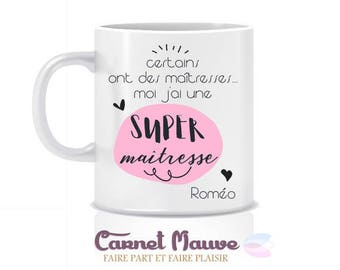 "Mug gift teacher ""some have mistresses"" end of year gift"