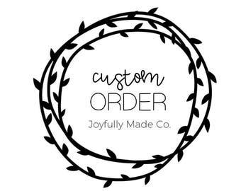 Custom Shirt Order for Kristen S.