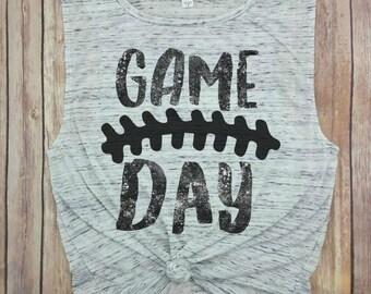 Game Day shirt, football shirt, football season, game on, game shirt, i love football, high school football, college football, football mom