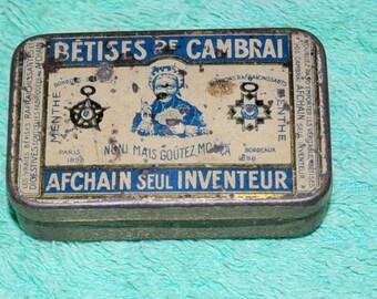 Old box of Cambrai nonsense