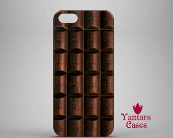 Cool iPhone 6 case chocolate iPhone 8 case iPhone 6s Plus case iPhone case 7 funny IPhone 5s/SE case chocolate bar protective iPhone 8 Plus