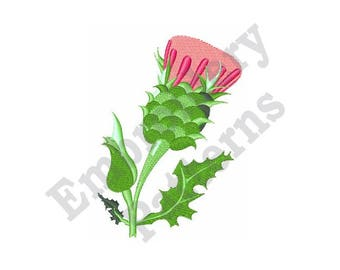 Thistle - Machine Embroidery Design
