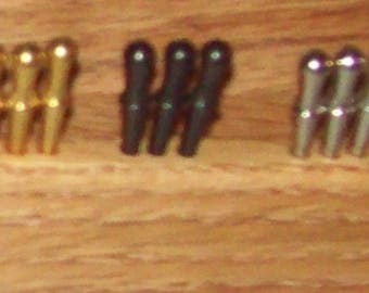 Optional - Metal Cribbage Pegs for any board that normally comes with wood pegs - Add On Order