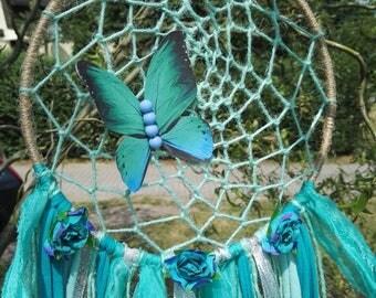 Dream catcher boho hippie style Butterfly