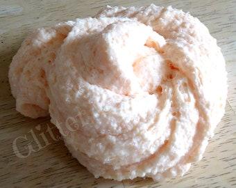 Scented Peach Cloud Cream Slime