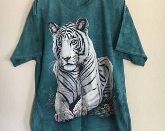 White tiger tshirt