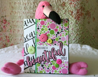 You Have a Beautiful Smile  Hello Greeting Card