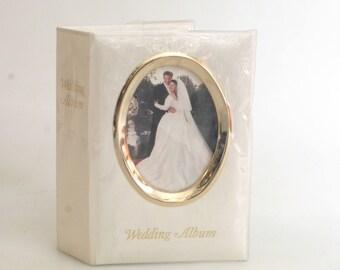 Deluxe Mini Wedding Photo Album Holds 100 4X6 Photos