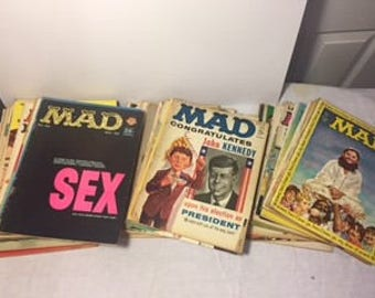 Mad Magazine Mix Collection from 1961-1968 In Great Condition