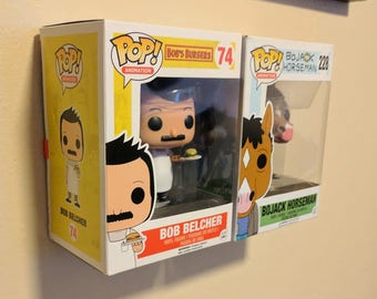 Funko Pop Wall Mount - Low Profile - 3D Printed - Special Order Available for Large Quantities