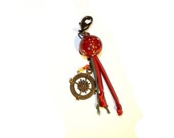 Christmas spirit keychain